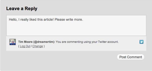 Comentarios tipo WordPress.com con Jetpack 1.4 y 1.4.1