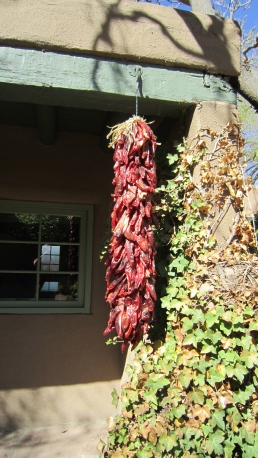 Drying Chiles, Santa Fe, New Mexico