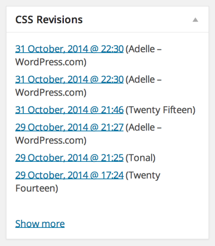 css-revisions