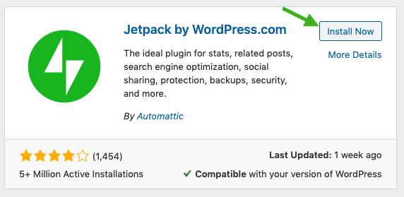 Jetpack Installation Options
