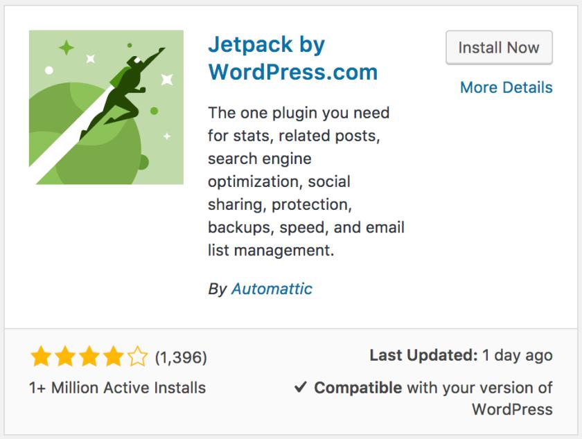 plugin de Jetpack