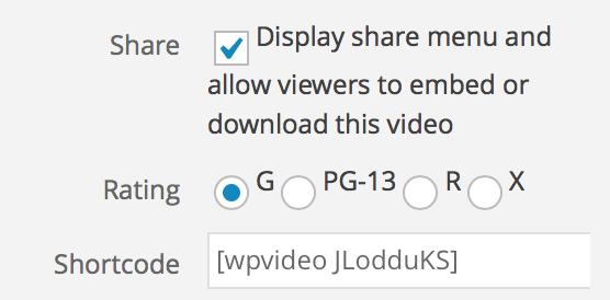 Video Hosting