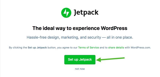 Set up Jetpack