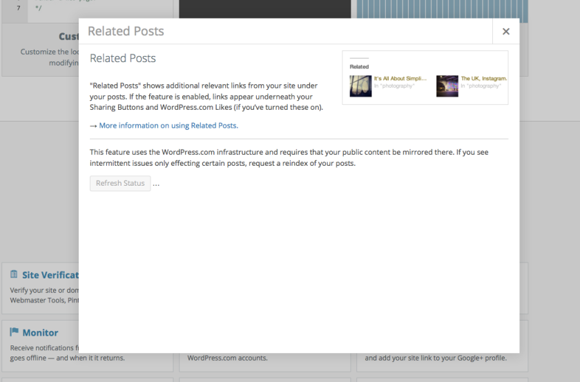 Jetpack 3.0 Related Posts Modal