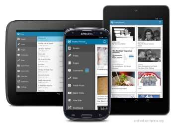 The WordPress for Android App Gets a Big Facelift