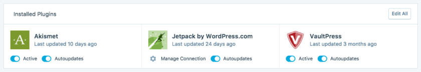 Autoupdates for plugins with Jetpack