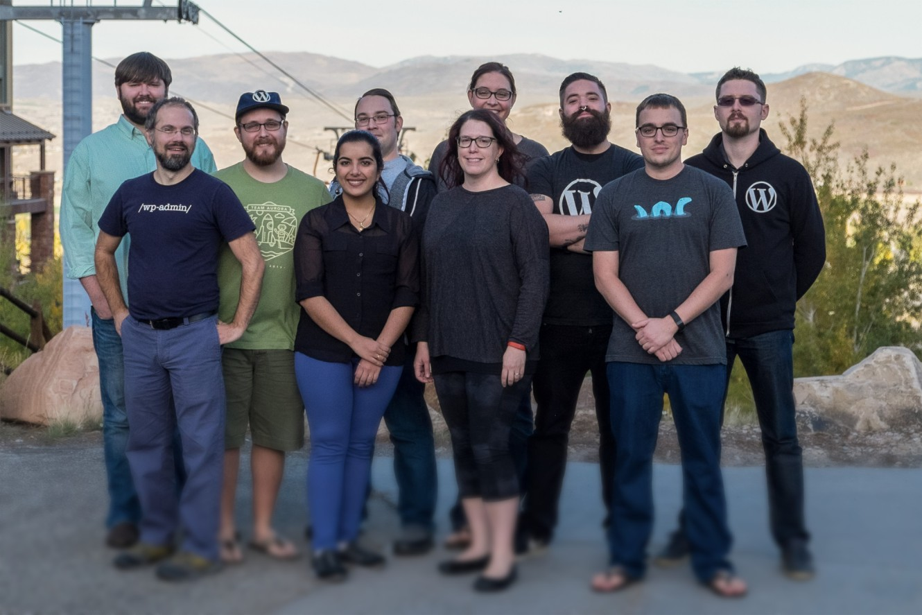 A few Jetpack Happiness Engineers on meetup - October 2015