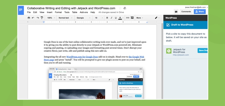 Collaborative Writing For WordPress With Google Docs - Google docs online
