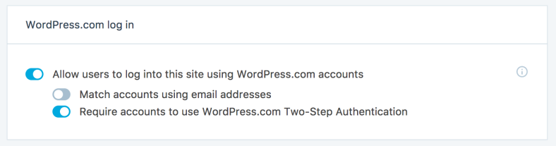 Jetpack will allow you to add 2-factor authentication to your WordPress site, requiring users to authenticate their logins with a special code or app