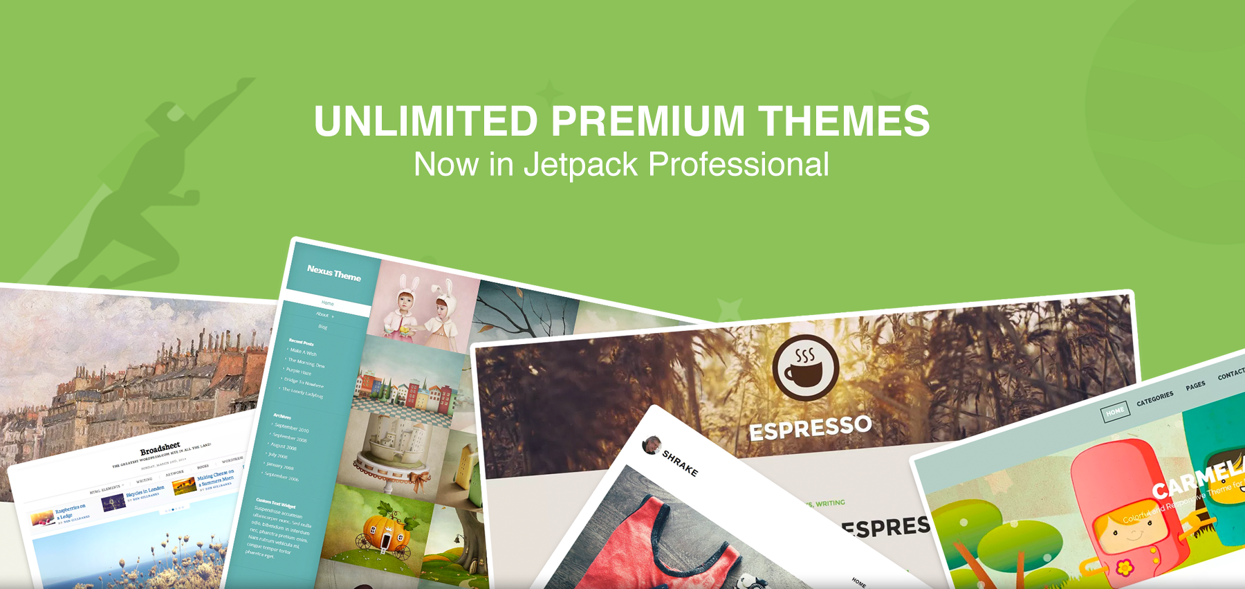 Introducing Unlimited Premium Themes (and a 50% introductory discount)