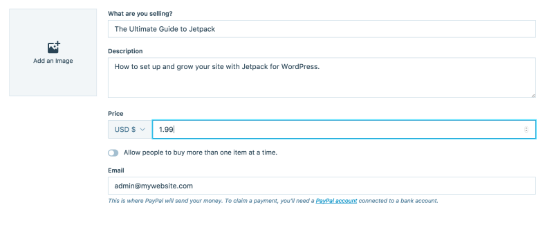 Take Payments Easily with Jetpack's Simple Payment Button
