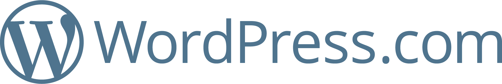 Logotipo do WordPress.com