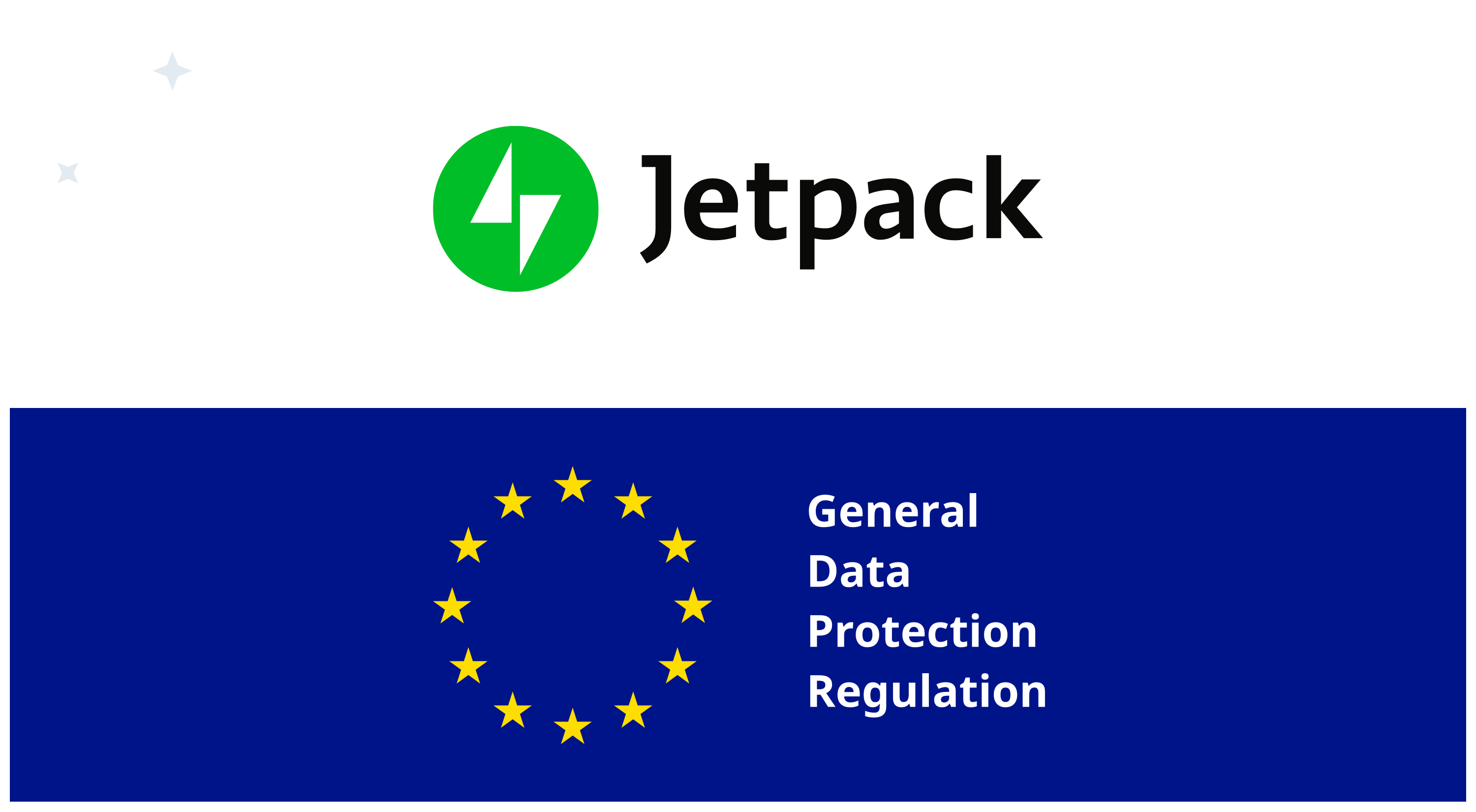Jetpack and The GDPR: What You Need to Know