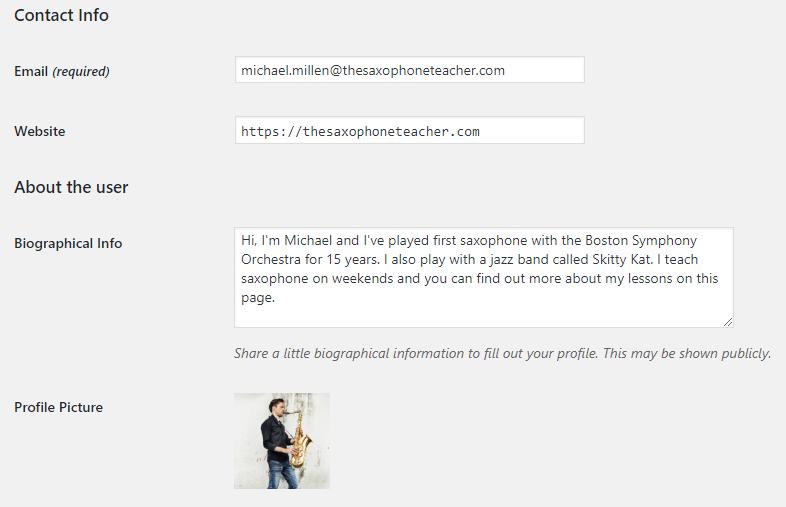 Como criar um novo perfil de usuário no WordPress