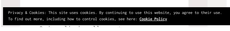 EU cookie banner on jetpack site
