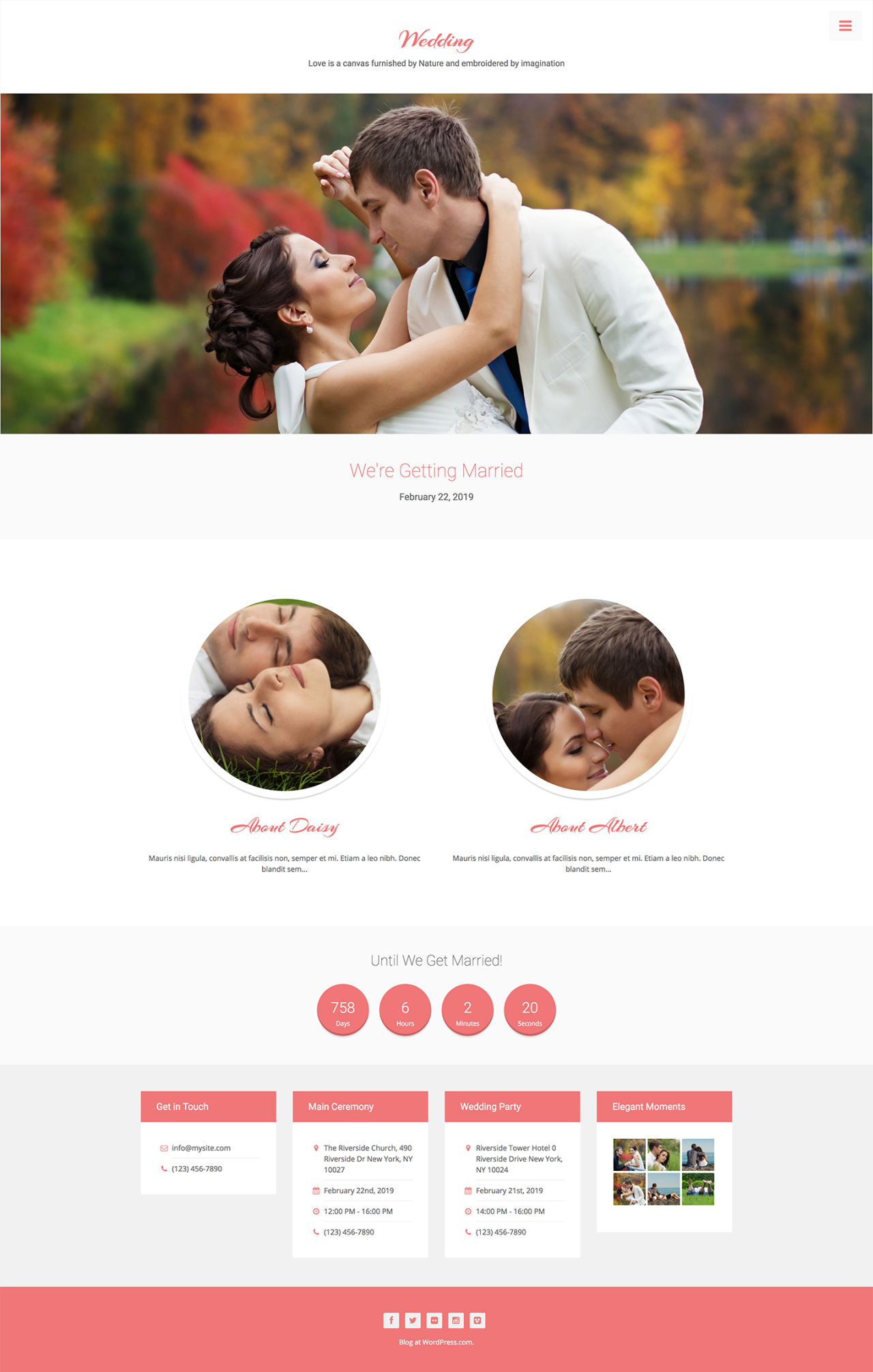 Use Jetpack To Create A Wedding Website For Your Big Day