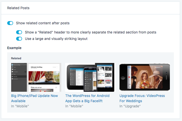 Customizing Related Posts in Jetpack