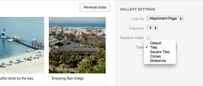 Create a gallery to show off your properties