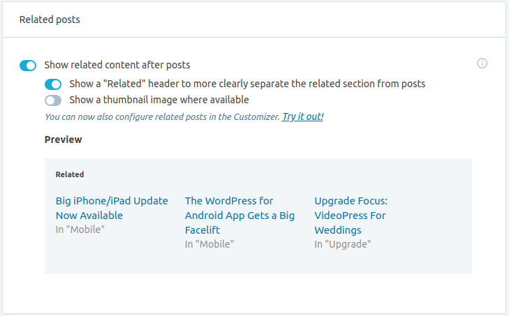 Related Content for WordPress