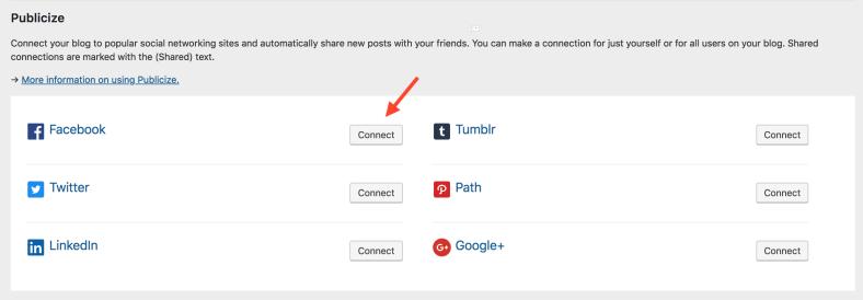 Publicize can help you overcome the Facebook algorithm change