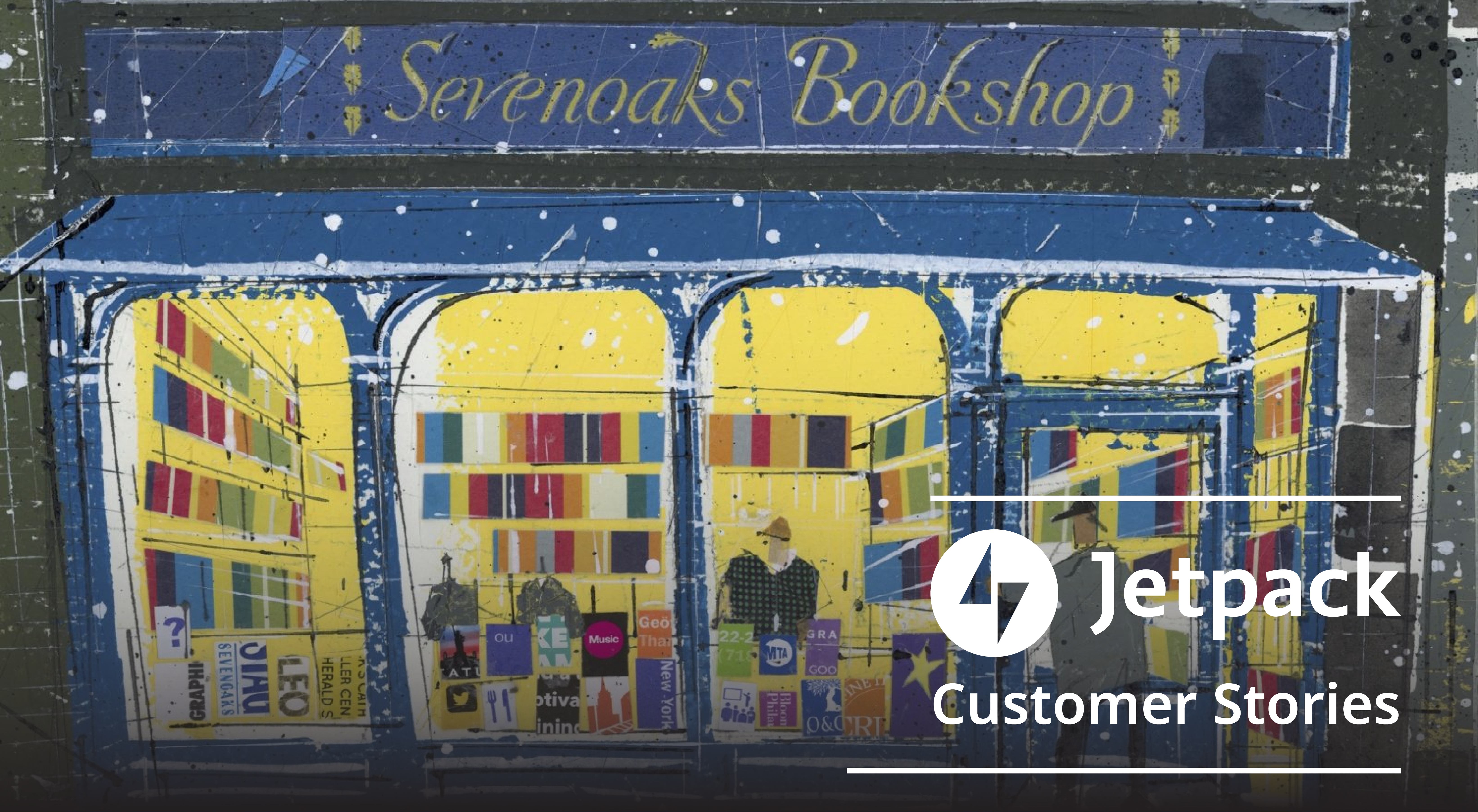 How Jetpack Backup Saved the Day for a Community Bookshop in the UK