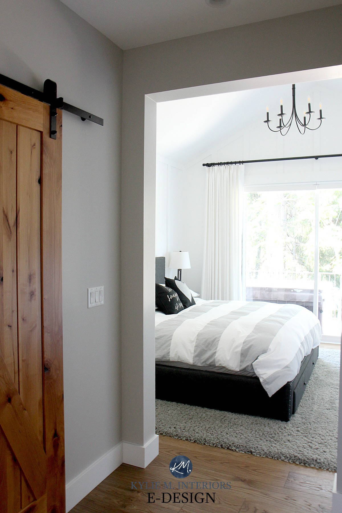 bedroom design from Kylie M Interiors