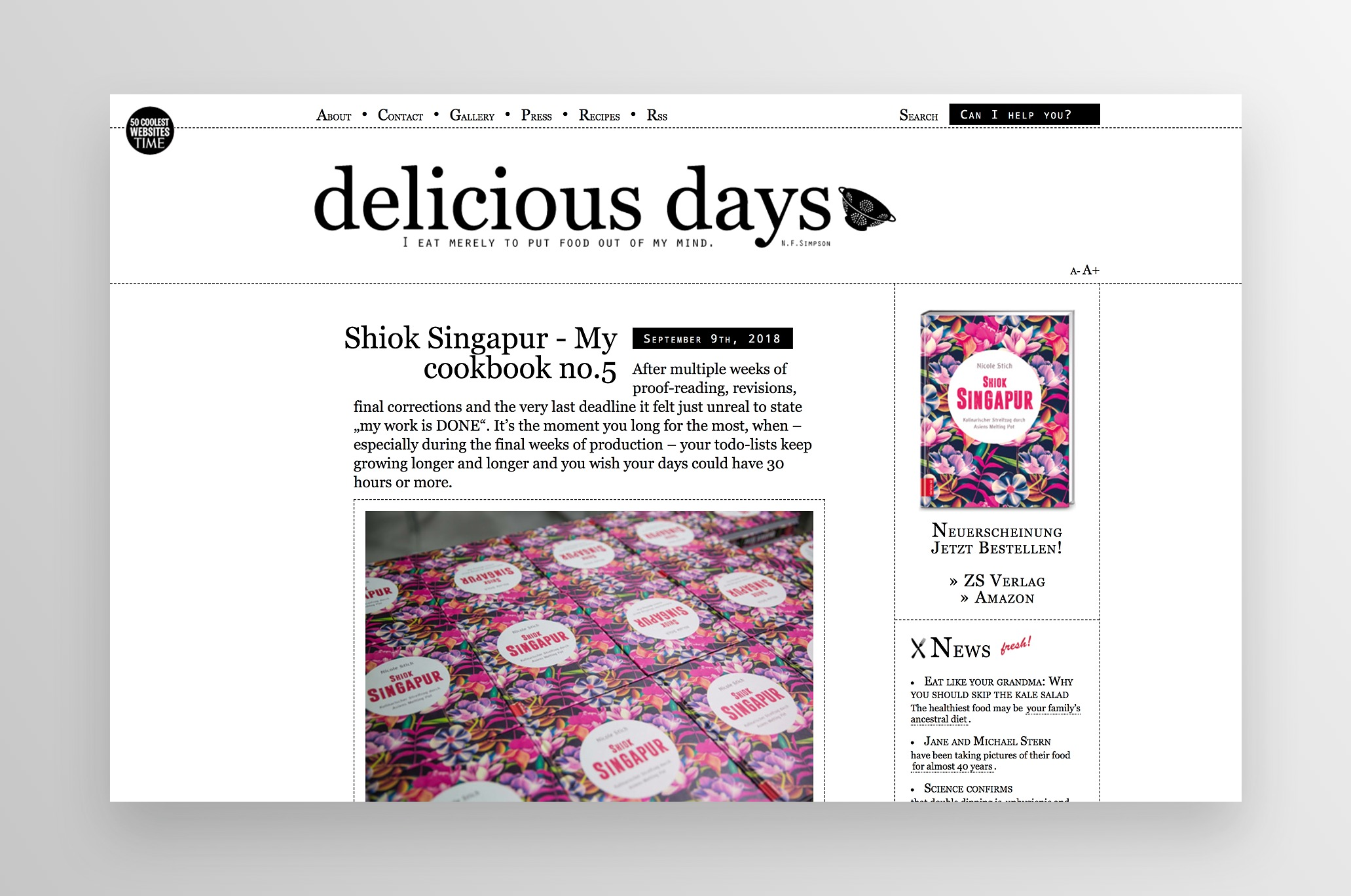 photo from food blog Delicious Days