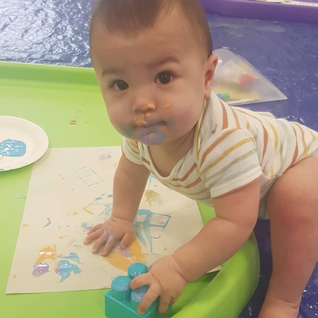 Mike's son, Zach